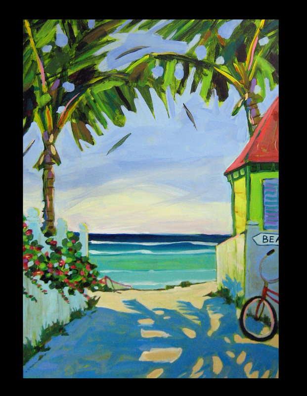 Caribbean Islands Kathy Frosio Art Studio